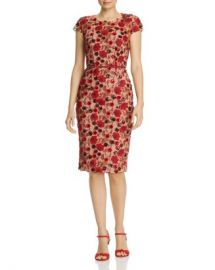 BRONX AND BANCO Della Rouge Embroidered Floral Sheath Dress Women - Bloomingdale s at Bloomingdales
