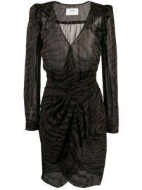 Ba Sh Saphir wrap-style Dress - Farfetch at Farfetch