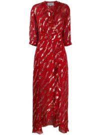 Ba amp Sh leopard print maxi dress leopard print maxi dress at Farfetch