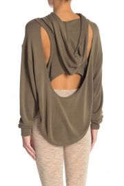 Back Into It Cutout Hoodie at Nordstrom Rack