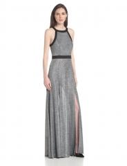Back cutout maxi dress by Bcbgeneration at Amazon
