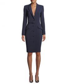 Badgley Mischka Collection Bodycon Jacket Dress at Neiman Marcus
