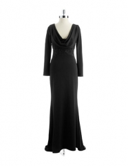 Badgley Mischka Illusion Gown at Lord & Taylor