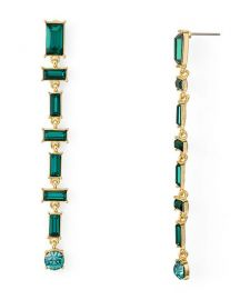 Baguette Linear Drop Earrings  at Bloomingdales