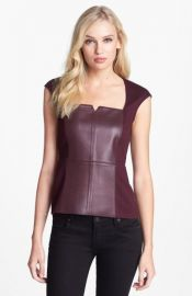 Bailey 44   x27 Legacy of Terror  x27  Faux Leather Top at Nordstrom
