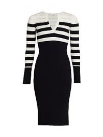 Bailey 44 - Candice Striped Knit Dress at Saks Fifth Avenue