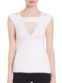 Bailey 44 - Contour Mesh Insert Top at Saks Fifth Avenue