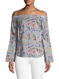 Bailey 44 - Printed Off-The-Shoulder Top at Saks Off 5th