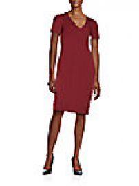 Bailey 44 - Seamed Ponte-Knit Sheath Dress at Saks Off 5th