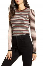 Bailey 44 Courtney Metallic Stripe Sweater   Nordstrom at Nordstrom
