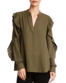 Bailey 44 Emma Ruffle-Sleeve Top Women - Bloomingdale s at Bloomingdales