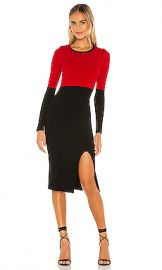 Bailey 44 Lenna Sweater Dress in Lipstick from Revolve com at Revolve