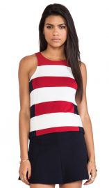Bailey 44 Split-T Top in Red  REVOLVE at Revolve