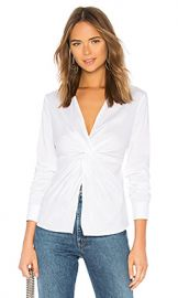 Bailey 44 Tallula Twist Front Shirt in White from Revolve com at Revolve