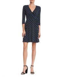 Bailey 44 Tied Down Dot Print Faux-Wrap Dress Women - Bloomingdale s at Bloomingdales