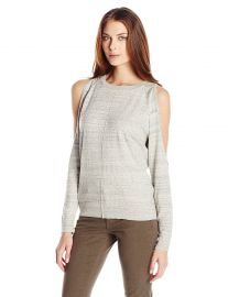 Bailey 44 Women s Olypmus Cold Shoulder Sweater at Amazon