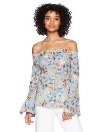 Bailey 44 Women s horticulture Bell Sleeve Off The Shoulder Top at Amazon