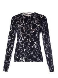 Balenciaga Marble Print Sweater at Matches