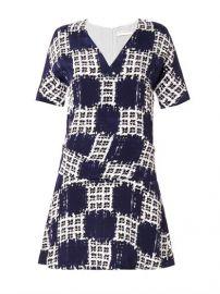 Balenciaga Scribble Check Dress at Matches