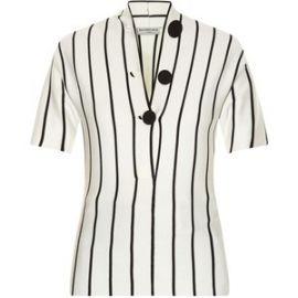 Balenciaga striped blouse at Matches