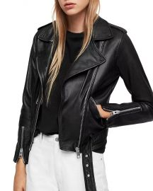 Balfern Leather Biker Jacket at Bloomingdales