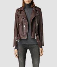 Balfern Leather Jacket at All Saints