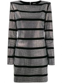 Balmain Beaded Striped Mini Dress  2 815 - Buy Online - Mobile Friendly  Fast Delivery  Price at Farfetch