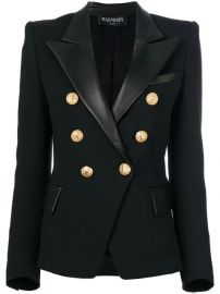 Balmain Button Embellished Blazer - Farfetch at Farfetch