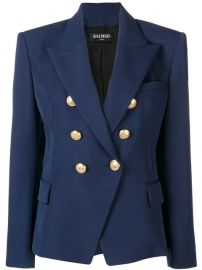 Balmain Classic double-breasted Blazer - Farfetch at Farfetch