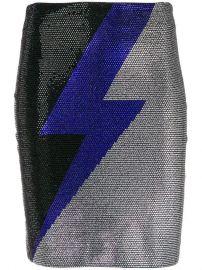 Balmain Embellished Thunder Skirt - Farfetch at Farfetch