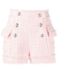 Balmain Tweed Shorts - Farfetch at Farfetch