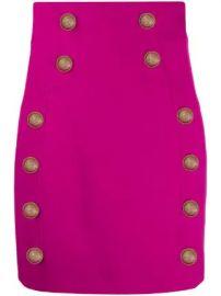 Balmain button-embellished mini skirt button-embellished mini skirt at Farfetch