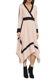Bambi Colorblock Wrap Dress by Bcbgmaxazria at Saks Off 5th
