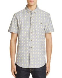 Banana Print Regular Fit Button-Down Shirt by Sovereign Code at Bloomingdales
