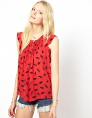Band of Outsiders Bunny Blouse at Asos