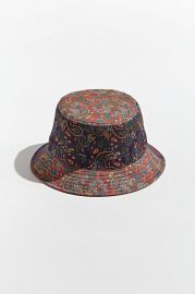 Bandana Print Bucket Hat by Urban Outfitters at Urban Outfitters