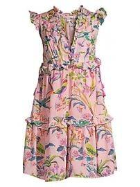 Banjanan - Chandra Silk Floral Dress at Saks Fifth Avenue