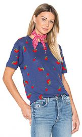 Banner Day Cherries Tee in Navy from Revolve com at Revolve