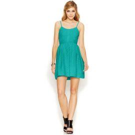 Bar III Chevron Dress at Macys