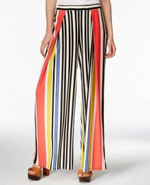 Bar III Striped Wide-Leg Pants Only at Macys at Macys