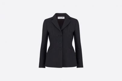 Bar Jacket in Wool and Silk at Dior