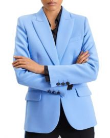 Barbara Bui Single-Button Pierced-Back Blazer Women - Bloomingdale s at Bloomingdales