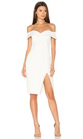 Bardot Bella Midi Dress in Ivory from Revolve com at Revolve
