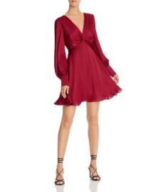 Bardot Claire Twist-Front Dress  Women - Bloomingdale s at Bloomingdales