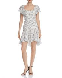 Bardot Jessi Rouched Polka Dot Dress Women - Bloomingdale s at Bloomingdales