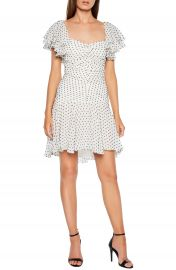 Bardot Jessi Ruched  amp  Ruffled Party Dress   Nordstrom at Nordstrom