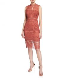 Bardot Mariana Sleeveless Lace Body-Con Dress at Neiman Marcus