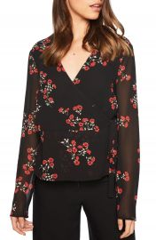 Bardot Mira Wrap Top  Nordstrom Exclusive    Nordstrom at Nordstrom