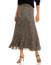 Bardot Printed Belted Pleated Skirt - 100  Exclusive  Women - Bloomingdale s at Bloomingdales