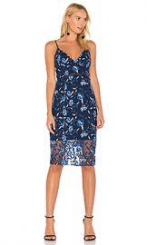 Bardot Sapphire Midi Dress in Floral from Revolve com at Revolve